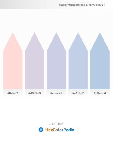 Palette image download - Misty Rose – Light Steel Blue – Light Steel Blue – Light Steel Blue – Light Steel Blue
