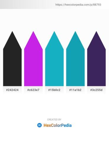 Palette image download - Black – Blue Violet – Light Sea Green – Light Sea Green – Dark Slate Blue