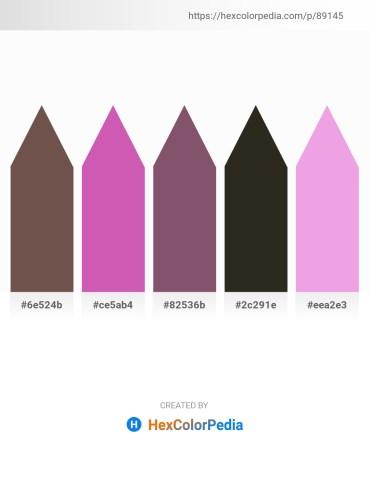 Palette image download - Dim Gray – Orchid – Black – Black – Violet