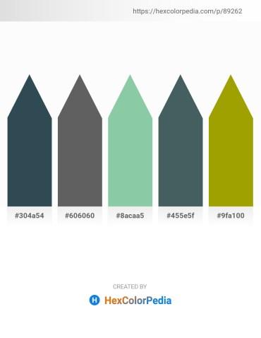 Palette image download - Dark Slate Gray – Dim Gray – Dark Sea Green – Dark Slate Gray – Olive