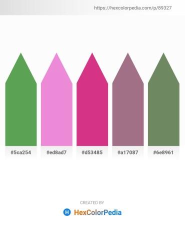 Palette image download - Medium Sea Green – Violet – Medium Violet Red – Rosy Brown – Dark Sea Green