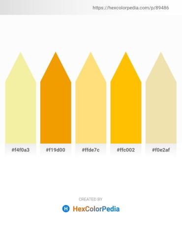 Palette image download - Khaki – Orange – Navajo White – Gold – Pale Goldenrod