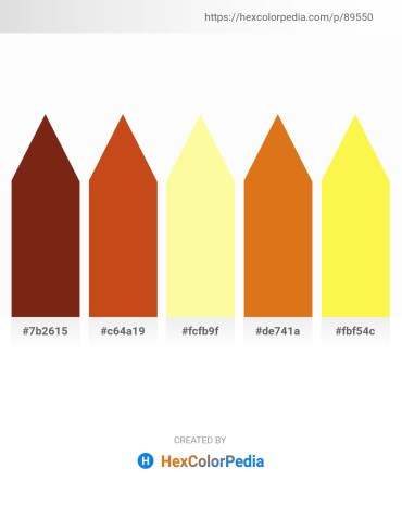 Palette image download - Saddle Brown – Chocolate – Navajo White – Chocolate – Green Yellow