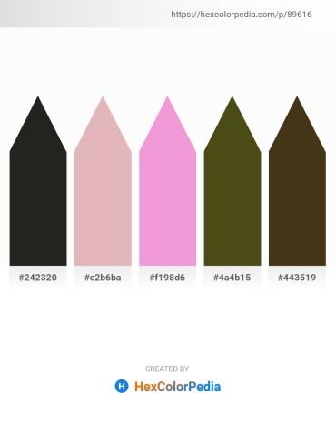 Palette image download - Black – Plum – Violet – Dark Olive Green – Gray
