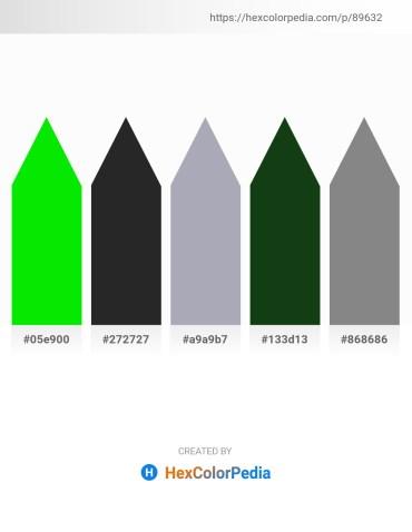 Palette image download - Lime – Black – Light Slate Gray – Light Green – Gray
