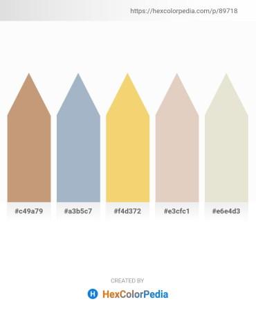 Palette image download - Tan – Light Steel Blue – Khaki – Tan – Beige