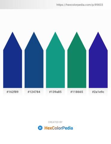 Palette image download - Midnight Blue – Midnight Blue – Light Sea Green – Teal – Midnight Blue