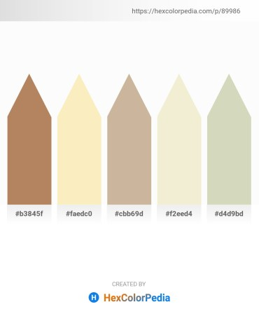 Palette image download - Peru – Light Goldenrod Yellow – Tan – Beige – Tan