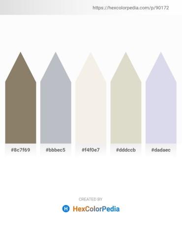 Palette image download - Gray – Light Steel Blue – Beige – Light Gray – Light Steel Blue