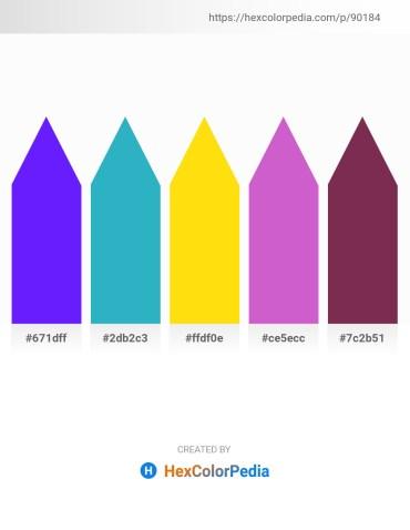 Palette image download - Dark Violet – Light Sea Green – Gold – Orchid – Brown