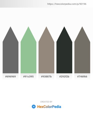 Palette image download - Dim Gray – Dark Sea Green – Gray – Dark Slate Gray – Dim Gray