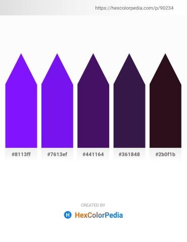 Palette image download - Dark Violet – Blue Violet – Midnight Blue – Midnight Blue – Steel Blue