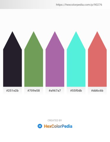 Palette image download - Black – Dark Sea Green – Linen – Turquoise – Pale Violet Red