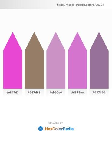 Palette image download - Violet – Gray – Plum – Orchid – Sienna