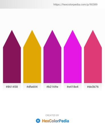 Palette image download - Dark Violet – Orange – Medium Violet Red – Magenta – Medium Violet Red