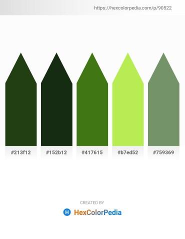 Palette image download - Dark Slate Gray – Burlywood – Forest Green – Green Yellow – Dark Sea Green