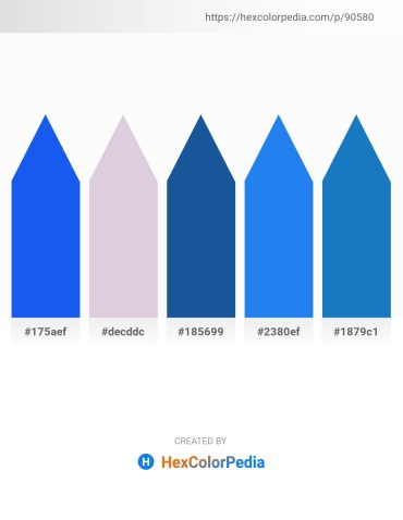 Palette image download - Royal Blue – Thistle – Green Yellow – Dodger Blue – Navajo White