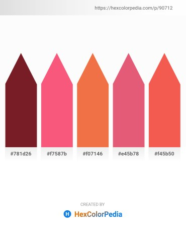 Palette image download - Brown – Salmon – Tomato – Pale Violet Red – Tomato