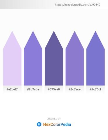 Palette image download - Lavender – Medium Purple – Slate Gray – Medium Purple – Slate Blue