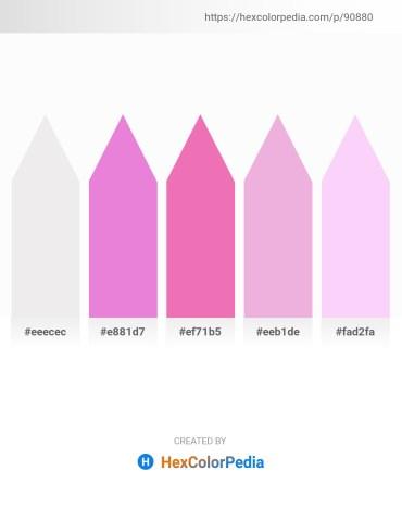 Palette image download - White Smoke – Violet – Light Coral – Plum – Lavender Blush