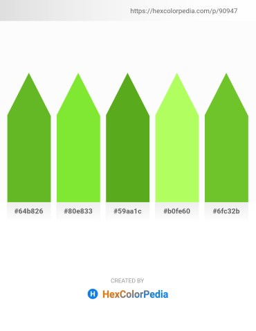Palette image download - Olive Drab – Yellow Green – Olive Drab – Green Yellow – Yellow Green
