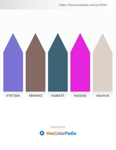 Palette image download - Slate Blue – Dim Gray – Dark Slate Gray – Magenta – Light Gray