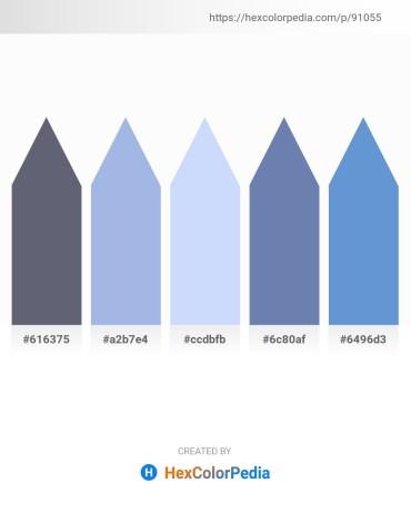 Palette image download - Slate Gray – Light Blue – Alice Blue – Light Slate Gray – Rosy Brown