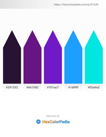 Palette image download - Midnight Blue – Midnight Blue – Blue Violet – Dodger Blue – Dark Turquoise