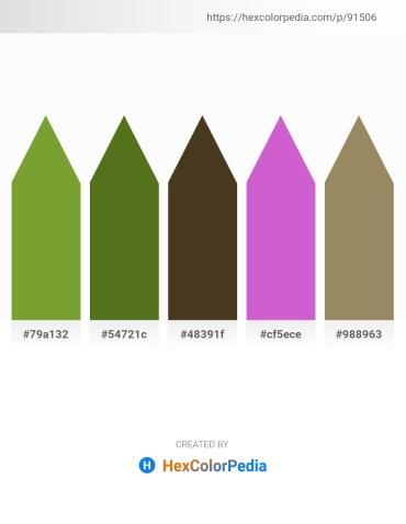 Palette image download - Olive Drab – Olive Drab – Olive – Orchid – Dark Olive Green