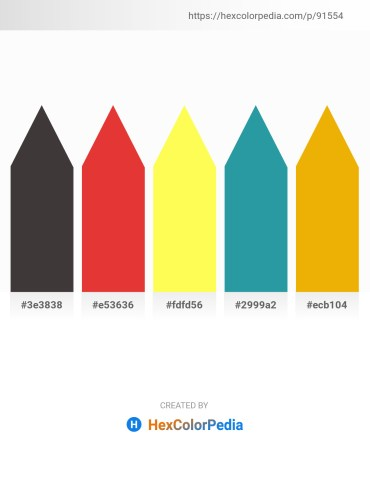 Palette image download - Dim Gray – Crimson – Green Yellow – Light Sea Green – Orange