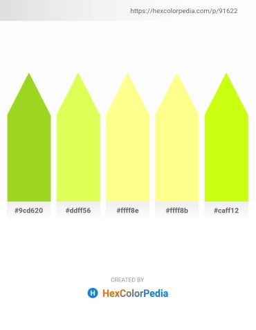 Palette image download - Yellow Green – Green Yellow – Navajo White – Navajo White – Green Yellow