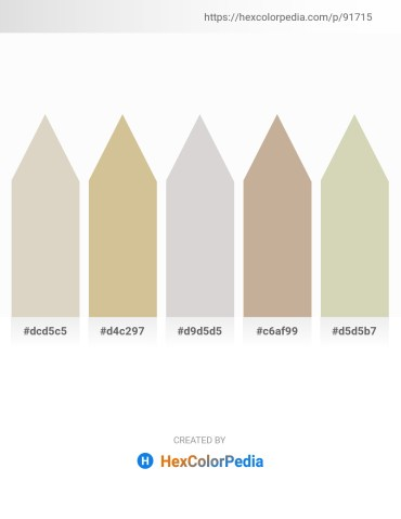 Palette image download - Light Gray – Tan – Light Gray – Rosy Brown – Tan