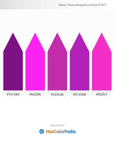 Palette image download - Indigo – Magenta – Medium Violet Red – Dark Orchid – Deep Pink
