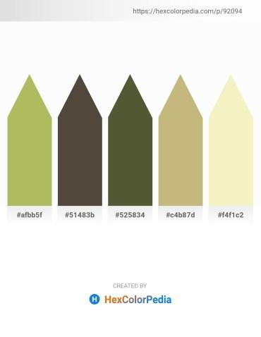 Palette image download - Dark Khaki – Lavender – Dark Olive Green – Dark Khaki – Pale Goldenrod