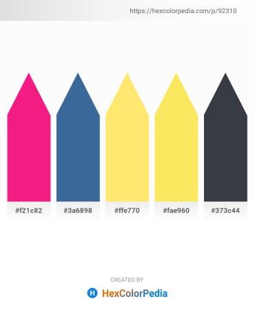 Palette image download - Deep Pink – Steel Blue – Navajo White – Light Sea Green – Dark Slate Gray