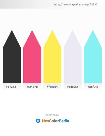 Palette image download - Black – Light Coral – Dim Gray – Light Steel Blue – Sky Blue