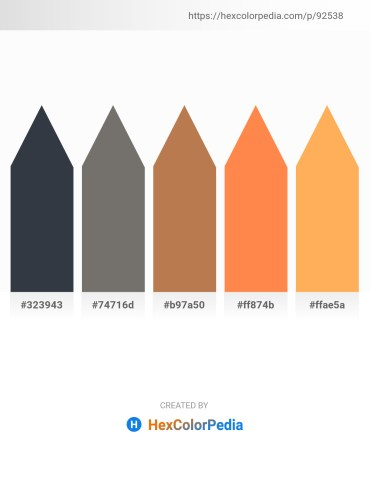 Palette image download - Dark Slate Gray – Dim Gray – Indian Red – Coral – Light Salmon