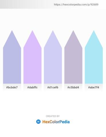 Palette image download - Light Steel Blue – Rosy Brown – Lavender – Light Steel Blue – Pale Turquoise