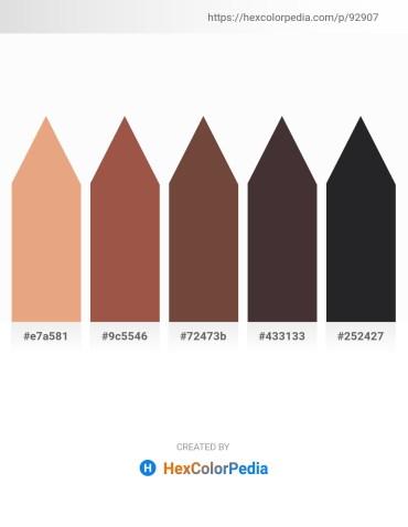 Palette image download - Dark Salmon – Sienna – Dark Cyan – Gray – Dark Slate Gray