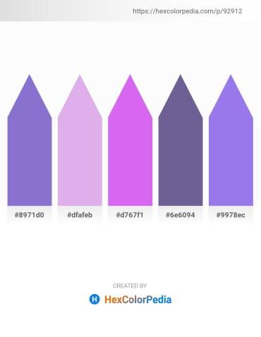 Palette image download - Medium Purple – Lavender – Medium Slate Blue – Slate Gray – Medium Slate Blue