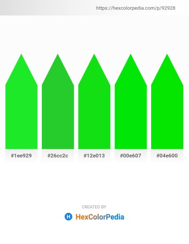 Palette image download - Lime Green – Lime Green – Lime – Black – Lime