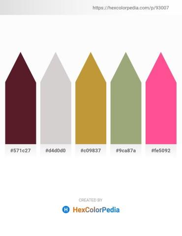 Palette image download - Brown – Light Gray – Peru – Dark Sea Green – Hot Pink