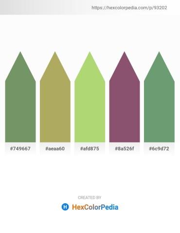 Palette image download - Dark Sea Green – Dark Khaki – Light Blue – Midnight Blue – Dark Sea Green