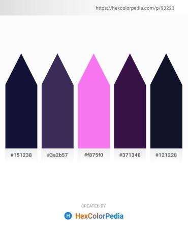 Palette image download - Midnight Blue – Dark Slate Blue – Violet – Midnight Blue – Midnight Blue