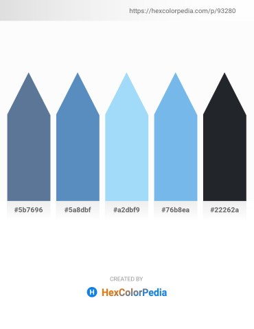 Palette image download - Slate Gray – Steel Blue – Light Sky Blue – Sky Blue – Dark Slate Gray