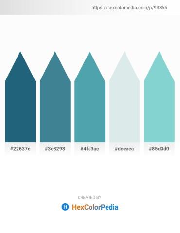 Palette image download - Forest Green – Steel Blue – Cadet Blue – Light Steel Blue – Medium Aquamarine