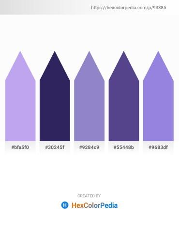 Palette image download - Lavender – Midnight Blue – Medium Purple – Dark Slate Blue – Medium Purple