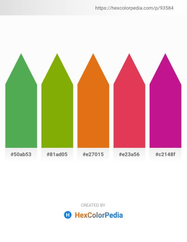 Palette image download - Medium Sea Green – Olive – Chocolate – Crimson – Medium Violet Red