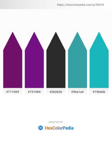 Palette image download - Purple – Indigo – Black – Orchid – Light Sea Green