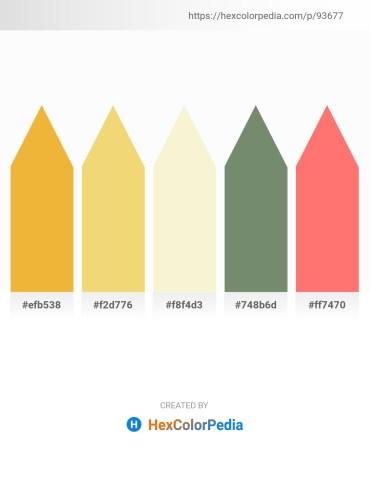 Palette image download - Sandy Brown – Khaki – Light Goldenrod Yellow – Dark Sea Green – Salmon